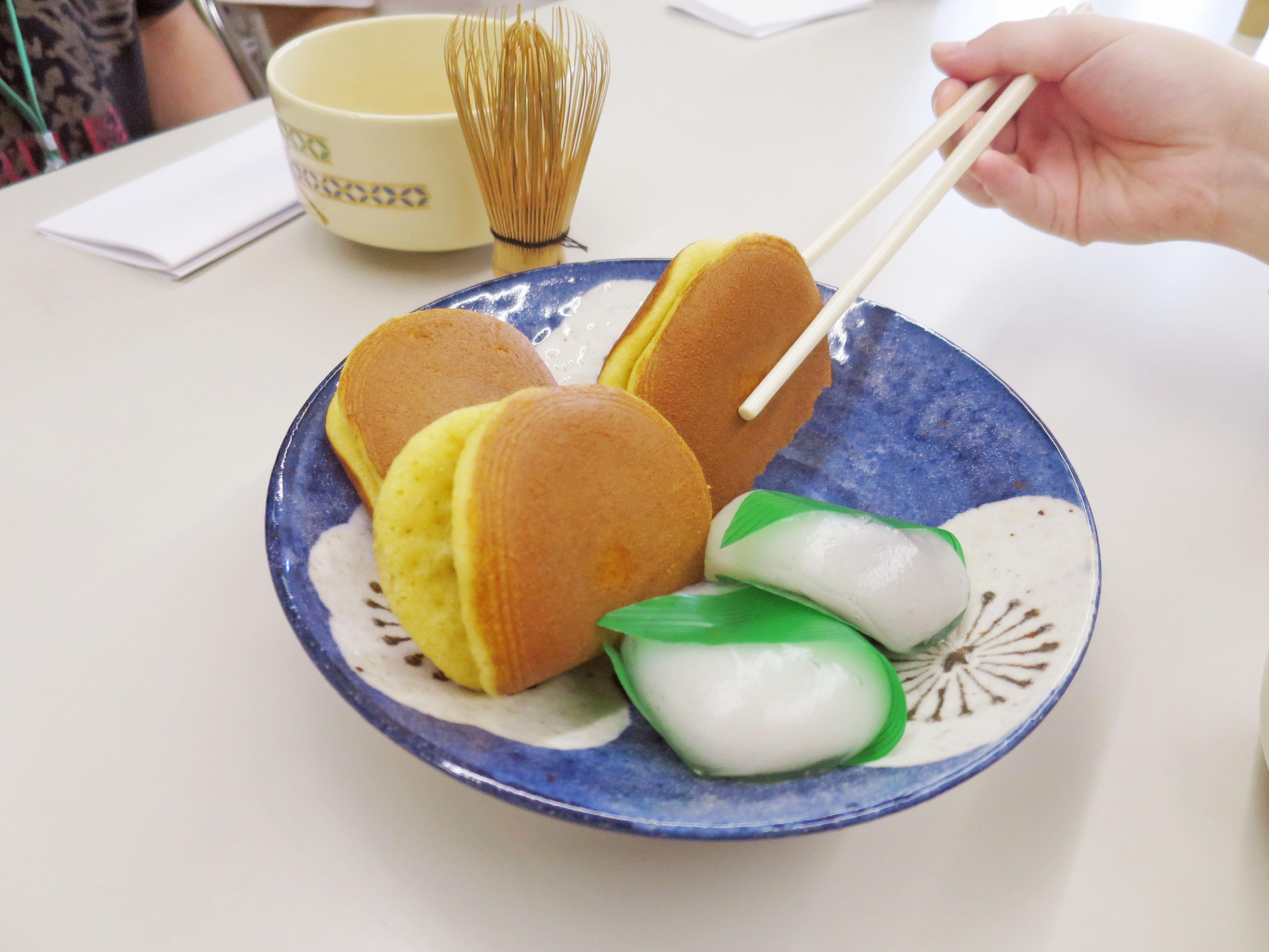 今回も和菓子が用意されました