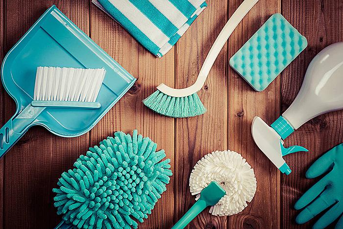 大掃除は年末の風物詩
