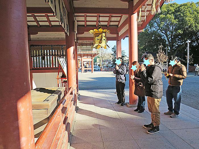 津島神社へ初詣に行ってきました!