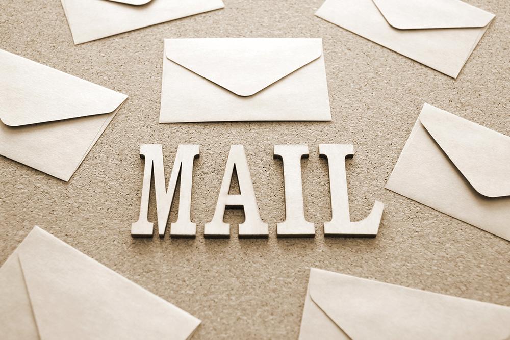 メールは重要な連絡手段