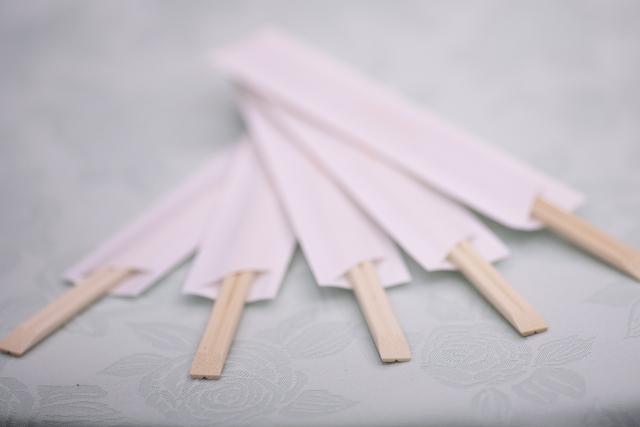 割り箸作業