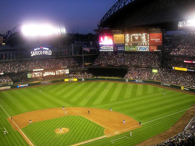 シアトルの野球場