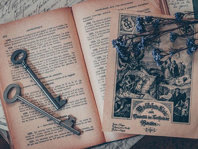 古い鍵(写真はイメージです)